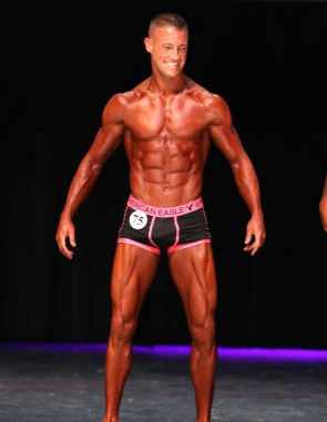 Natural Physique Competitor Dave DeRemer