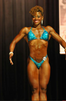 Natural Bodybuilder Jasmine Humes