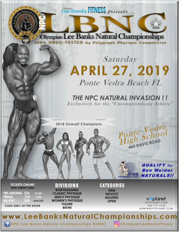 2019 NPC Lee Banks Natural Championships