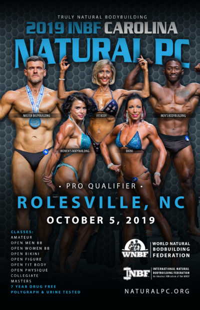 2019 INBF Carolina Natural PC - WNBF ProQ