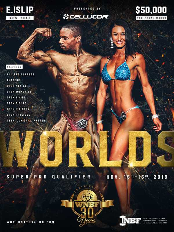 2019 WNBF INBF World Championships New York 6x8