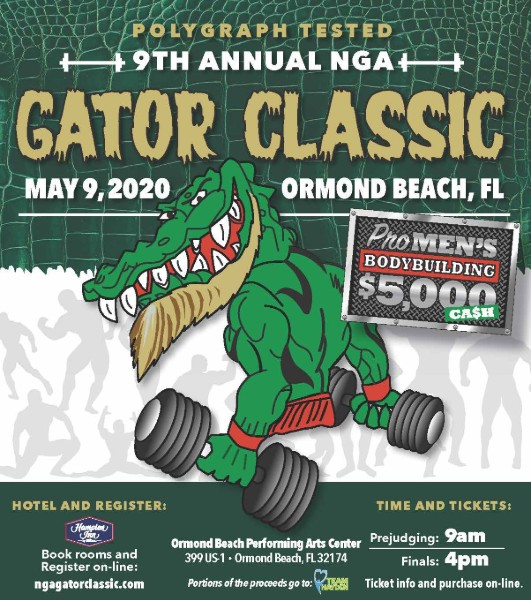 9th Annual Gator Classic - May 2020, Ormond Beach, FL