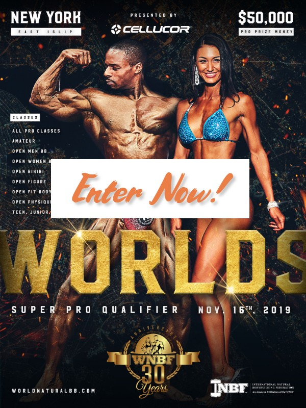 Enter the 2019 INBF WNBF Pro World Championship